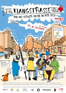 Klangstraßenfestival - Zwei Konzerte im Bürgerbüro in der Amendestraße 104